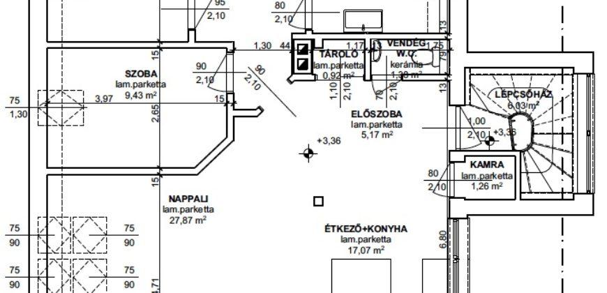14. kerület Must utca – Rákos-patak
