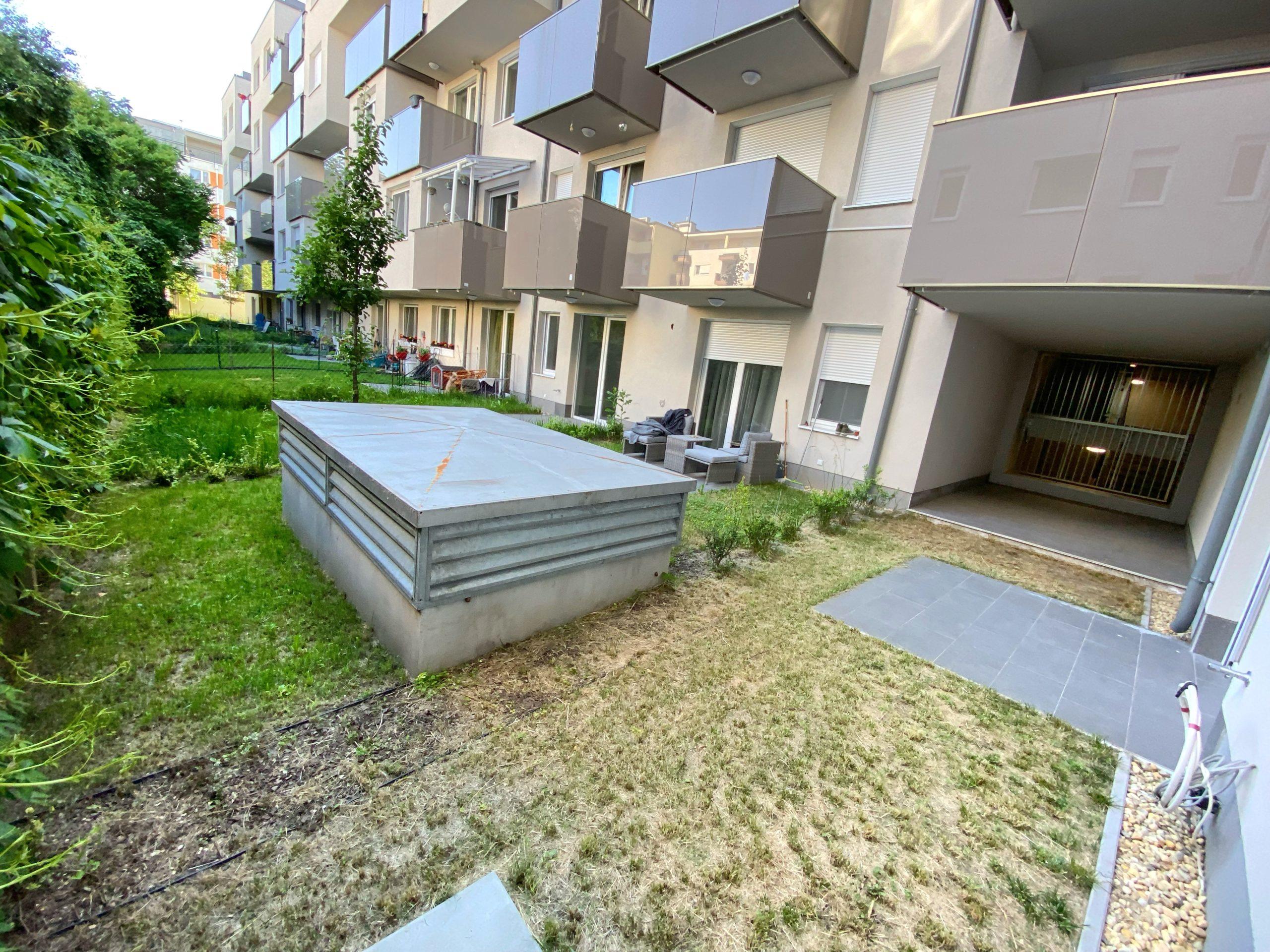 13. kerület Fáy utca – saját lekeríthető kert!!
